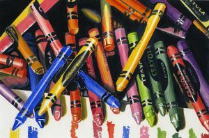 Study of Audrey Flacks 'Crayola' by TClark