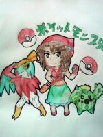 APH: Poketalia Trainer Raquel by Spirit-Okami