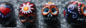 Sugar Skull 35 SOLD by angelacapel