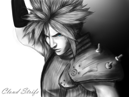 Cloud Strife by Natalia-Auditoredraw