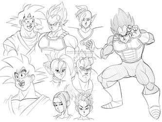 db style practice by TheUltimateEnemy