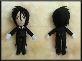 Sebastian Michaelis Plush by Meowchee