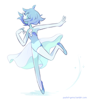 Blue Pearl by Milkii-Ways