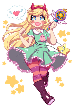 Star Butterfly by rap1993
