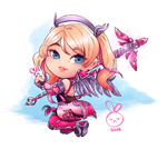 [ OW ] Pink Mercy by Aeveternal