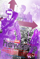 Marvel One-Shot: Hawkeye Poster (Simplified) by Bort826TFWorld