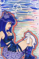 Wolves and Bunnies by DestroyedChildhood