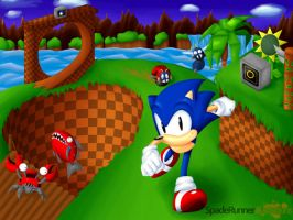 Sonic Green Hill SatBK Winner by Cinos-Hedgean