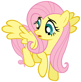 Fluttershy, It's Only A Paper cut! Don't Get Help! by Shho13