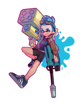 Inkling Commission For Jack by ArtofCelle