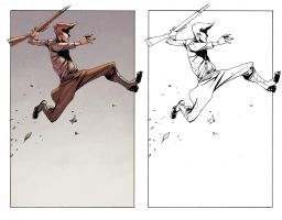 Peter Panzerfaust Issue 1 page 13 by alexsollazzo