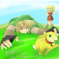 Happy Easter by HylianGuardians