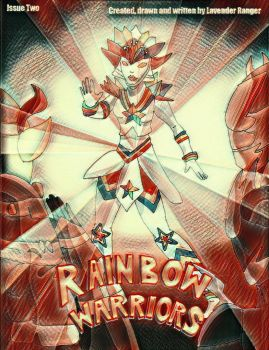 Rainbow Warriors Issue 2 cover by LavenderRanger