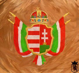 Hungarian Coat of Arms by PdictusMagister