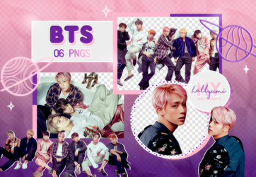 PNG PACK: BTS #33 (WINGS, W version) by Hallyumi