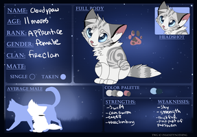 Cloudypaw | Application | TWG by rainwolfeh