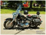 A Harley Davidson Heritage Softail Motorcycle by TheMan268