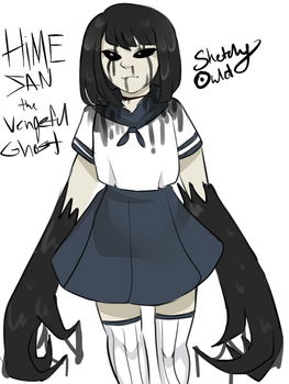 Vengeful Ghost by SketchyOwlet