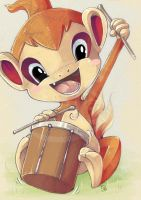 drum the drum chimchar