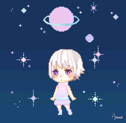 In Space by Aninsey