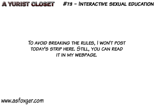 AYC #73 - Interactive sexual education CENSOR-ENG by AsFoxger