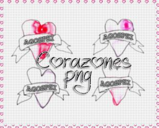 +Corazones PNG+ by AgospeiLovatic