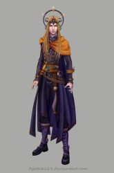 Sauron  costume design1 by AgataKa19