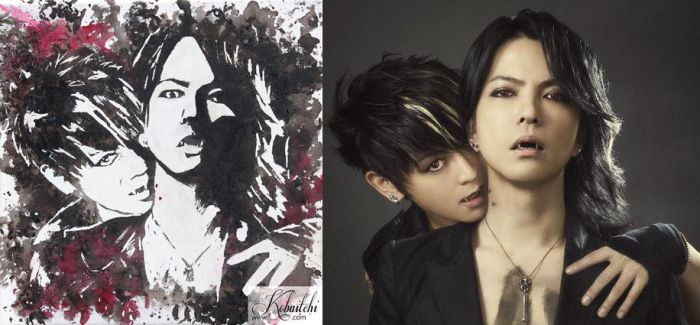 Vamps - Hyde and K.A.Z by Kobaitchi