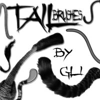 tail brushes by gli