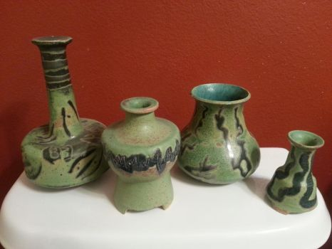 Green Pottery by pikab2001