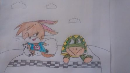 Tortoise and the Hare by superdes513