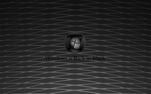 Windows - Back in Black by skyride