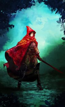 Red Riding Hood by cobaltplasma