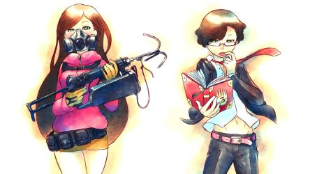 Alternate Mystery Twins by Mikeinel