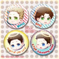 SPN-fridge magnet set by siruphial