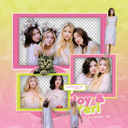 214|Joy e Yeri (Red velvet)|Png pack|#01| by happinesspngs
