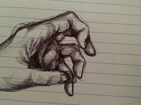 Hand Sketch by Kleimp