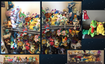 Pokemon Plush Collection by AmethystCreatures