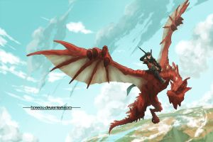 How To Ride Your Dragon by hoseou