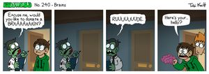 EWCOMIC No. 240 - Brains by eddsworld