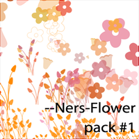 --Ners-Flower-brushes by Ners