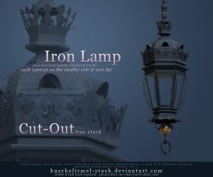 Iron Lamp Cut Out by kuschelirmel-stock