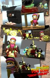 Dixie Kong: Caught Stealing by alyxcaptor