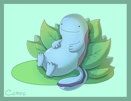 Quagsire for Sidser by Louivi