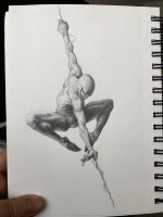 Spiderman dancer by splinterD