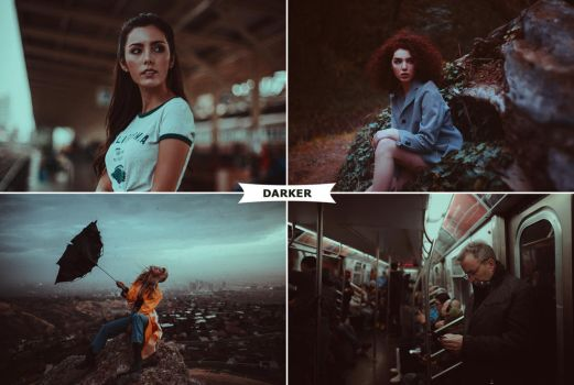 Darker Photoshop Actions 3 by ViktorGjokaj
