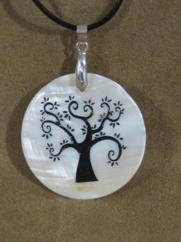 Sandblasted Tree Of Life Pendant by nfranklin