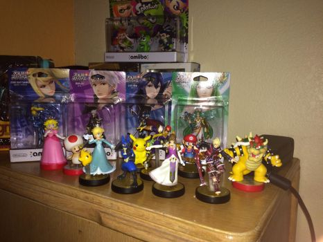 My Amiibo Collection by TheAnimeKnight