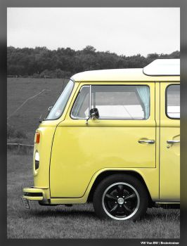 Silverstone::VW Van BW by brainstrainer