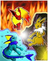 Classic Evee Trio 33 by Lilchan16